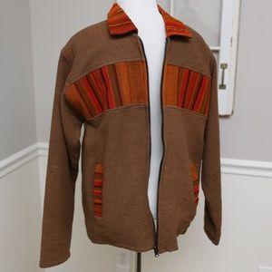 Handmade Vintage Brown Jacket